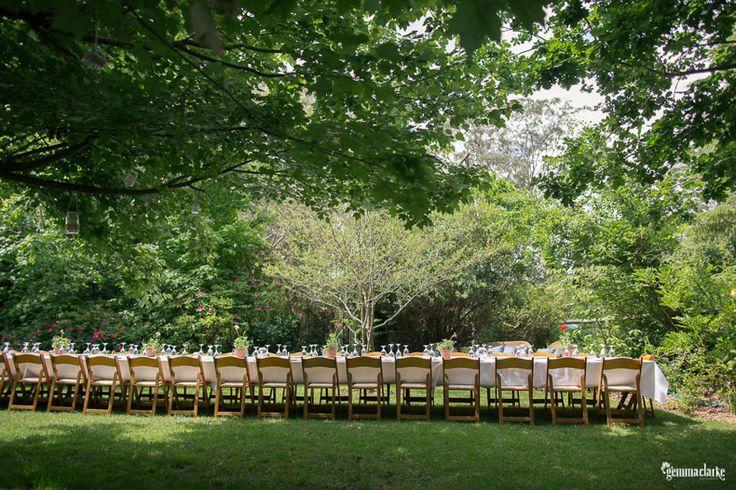 Jorja and James 'Backyard' Garden Wedding in Bowral