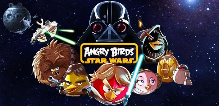 angry-bird3- A years ago in a galaxy far, far away… a history of anxious insurgent animals experienced off against a galactic menace: the Empire's wicked Pigtroopers!