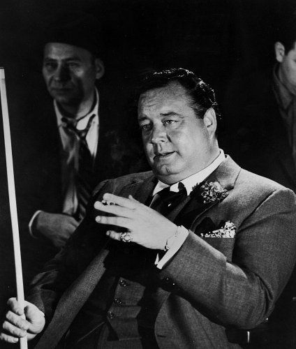 Jackie GLEASON (1916-1987) * AFI Top Actor nominee. Notable Films: The Hustler (1961); Requiem for a Heavyweight (1962); Don't Drink the Water (1969); Smokey and the Bandit (1977); Smokey and the Bandit II (1980); Smokey and the Bandit Part 3 (1983); The Toy (1980); Nothing in Common (1986)