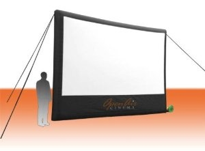 Open Air Cinema 16-feet Outdoor Home Projector Screen by Open Air Cinema  http://www.60inchledtv.info/tvs-audio-video/projection-screens/open-air-cinema-16feet-outdoor-home-projector-screen-com/
