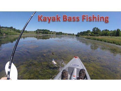 Kayak Bass Fishing for the First time