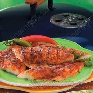 Жареный на гриле острый морской окунь on http://kulinarniyclub.ru