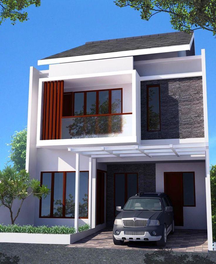 77 Gambar Desain Rumah Sederhana Di Desa Lofts Modernos Planos De Casas Fachada De Casa