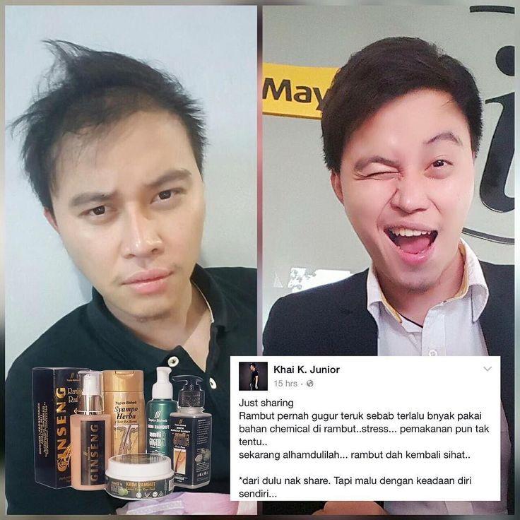 Alhamdulillah sharing pengalaman pengguna @Pakej_PRG dari Kota Samaran Sarawak! . Terima kasih Khai  Follow   @khaikjunior @khaikjunior . Korang pon jjka ada masalah rambut selepas rebonding warna guna wax pomade dan sebagainya? . Hubungi kami untuk rawatan lebih menyeluruh . Whatsapp  012-6868-983