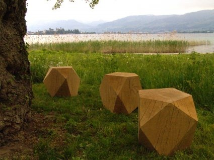 WOODEN JEWELS  entirely handmade by  Natanel Gluska  special order only  stool 40 - 42 cm high    www.natanelgluska.com