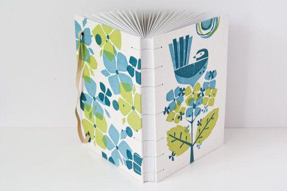 Fantail Bird Writing Journal. MakeForGood. Screen by Mettaville