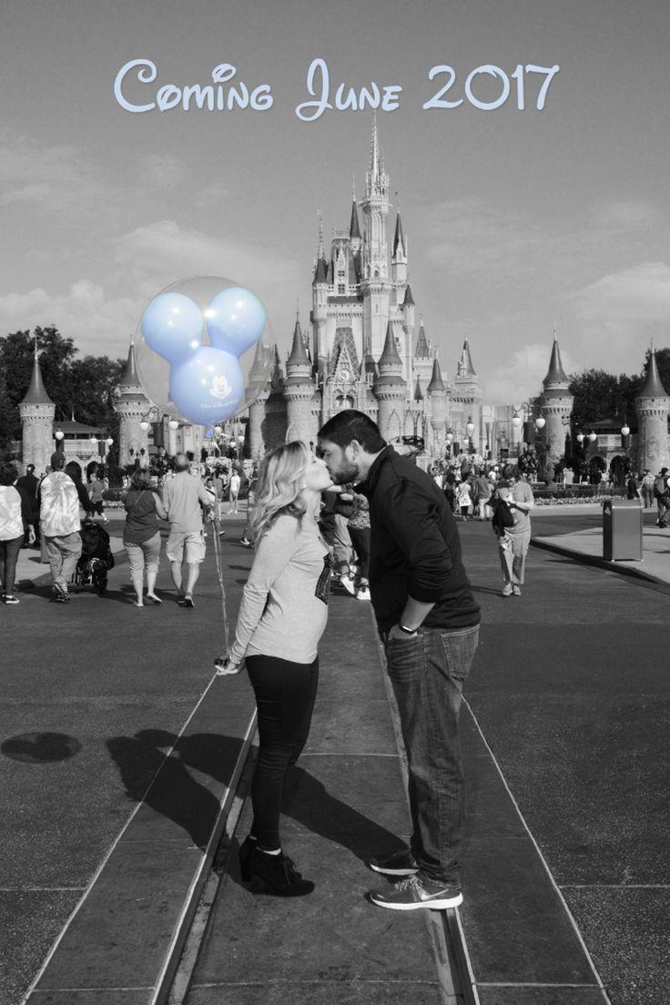 Our Disney Pregnancy Announcement photo