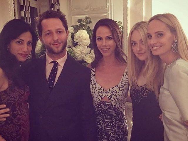 George W. Bush's Daughter Takes Picture with Huma Abedin at Clinton Fundraiser in Paris