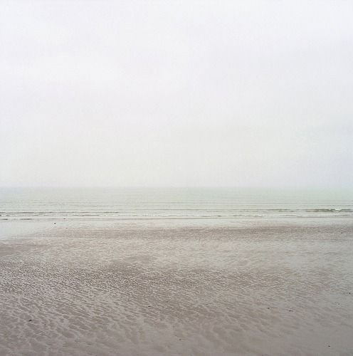 the perfectly calm sea