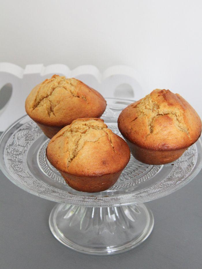 recette muffins IG indice glycémique bas