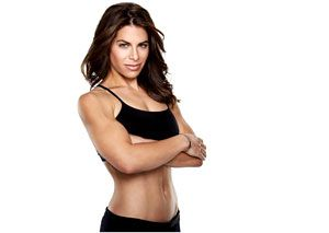Jillian Michael's Treadmill workout.  This is a 4 week plan that allows you to progress in intensity over the course of 4-weeks.  The treadmill workouts are short but intense.  This 4 week progression is designed to be used in addition to resistance training during the week.  Get shredded w/o losing muscle!