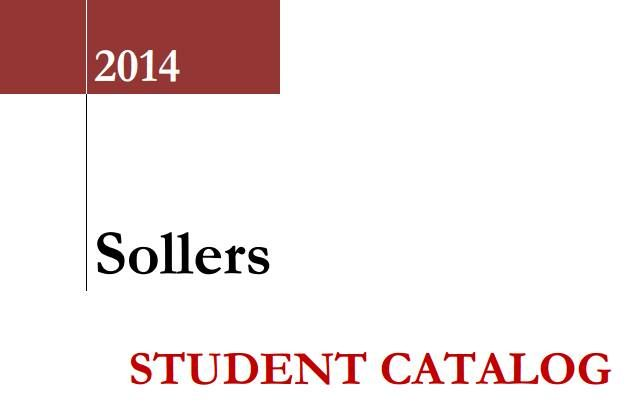 Have you had a look at our student catalog?   The Sollers Student catalog is the document provided for all students, and also lists the requirements for programs: http://ow.ly/Dkp7s