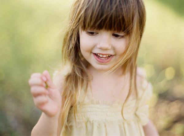 Sweet little girl | Photography: Jose Villa