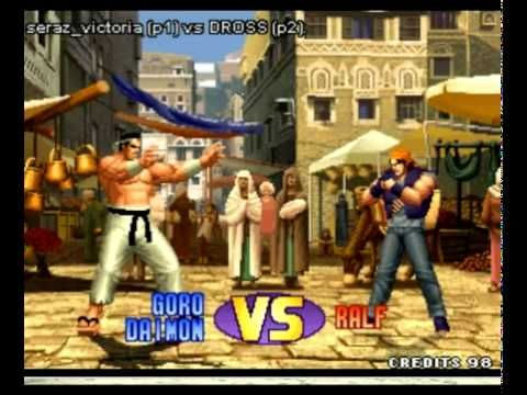Dross reta a una campeona de King of Fighters  una mentadera de mdre por no sver jugar