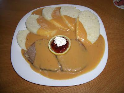 Czech Cook Book: Svickova - vegetable sauce