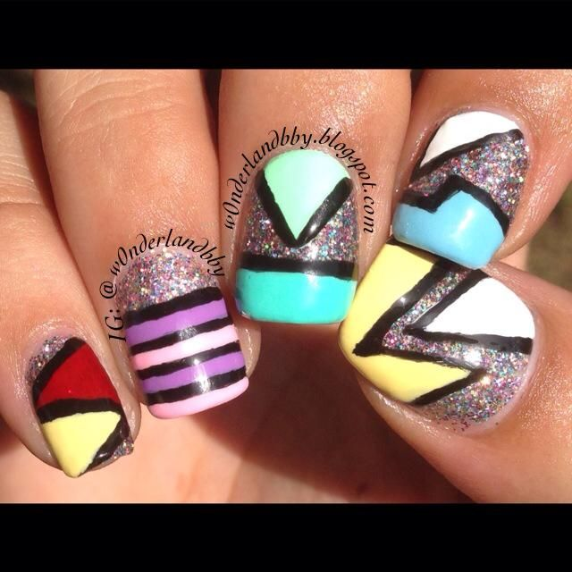 203 best My Nail Art! images on Pinterest | Makeup, Nailed it and ...
