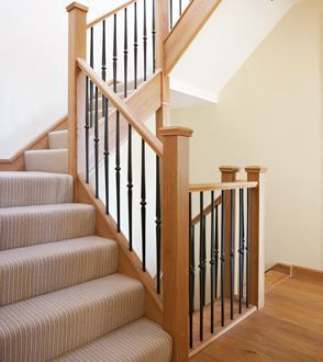 Steel Staircases   Metal Stair Spindles   Neville Johnson Staircases