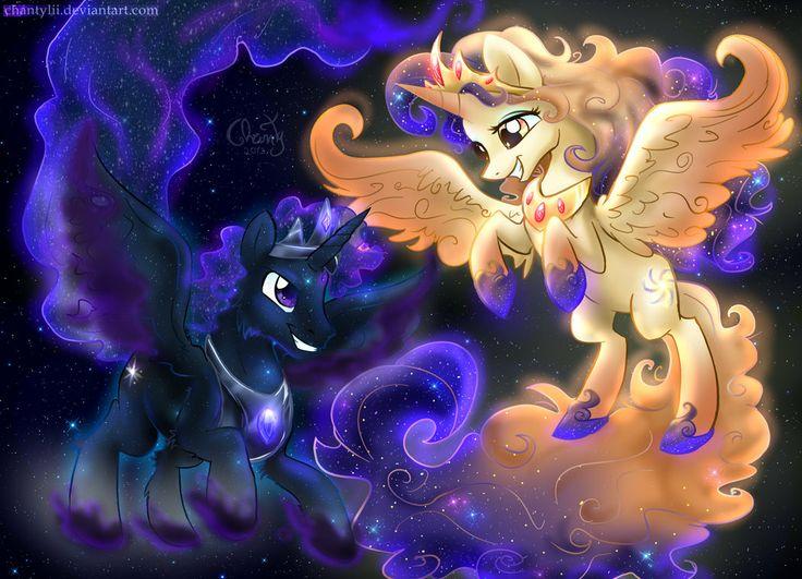 My Little Pony Friendship Is Magic Princess Luna And Princess Celestia ...