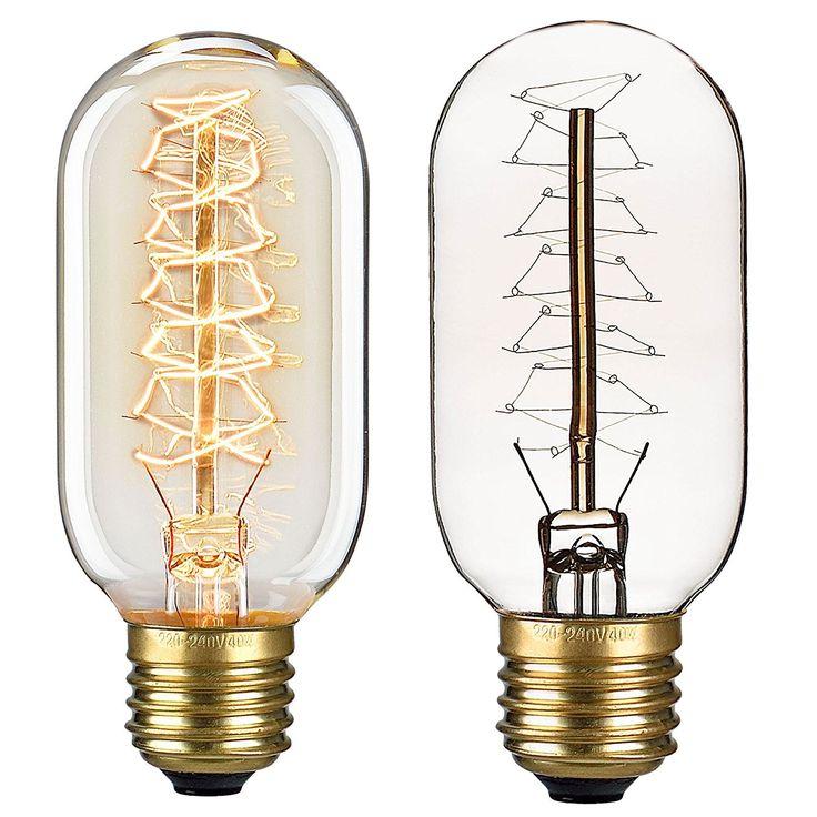 Fancy Edison Gl hbirne u E mm von in tec u Vintage Gl hlampe warm