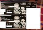 #Ticket  2 BIGLIETTI (posti vicini) PLACEBO MILANO  15 novembre 2016  Mediolanum Forum #italia
