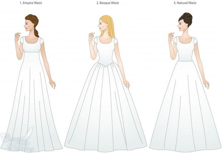 40 best types of wedding dress images on Pinterest | Short wedding ...