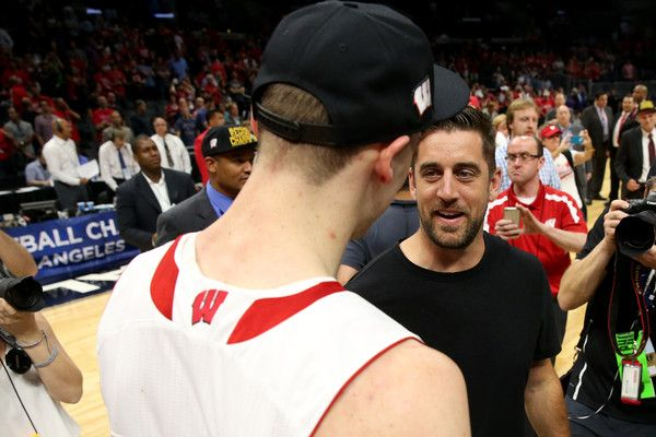 Aaron Rodgers Photos - NCAA Basketball Tournament - West Regional - Los Angeles - Zimbio