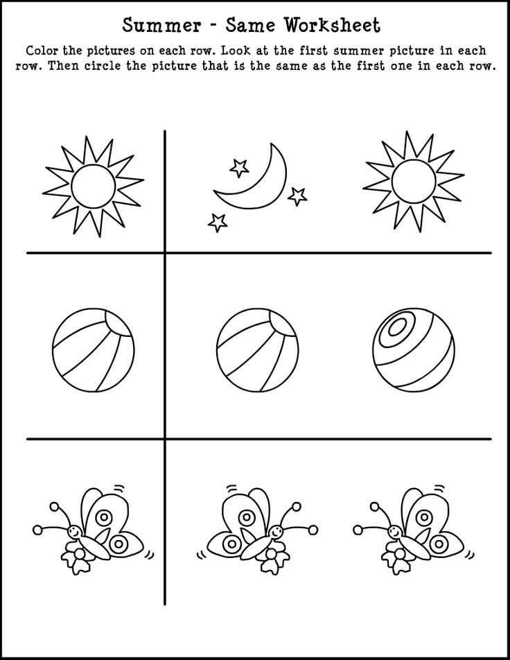 Summer Worksheet   Summer worksheets