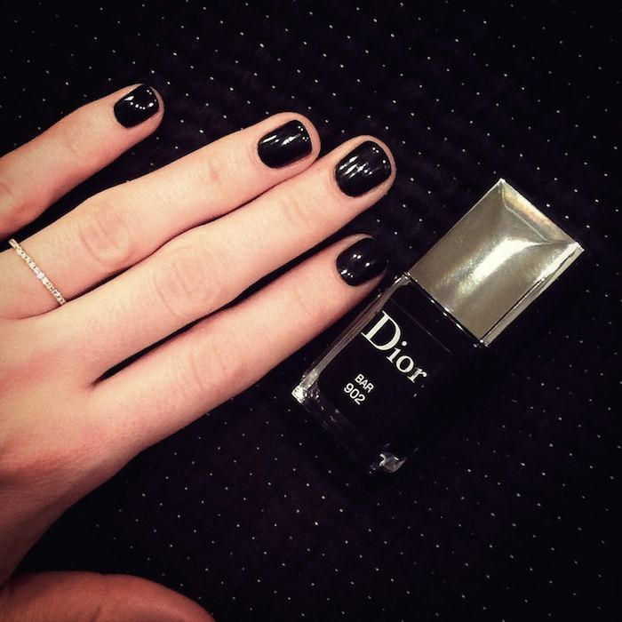 Black! Nailpolish N0902 by Dior