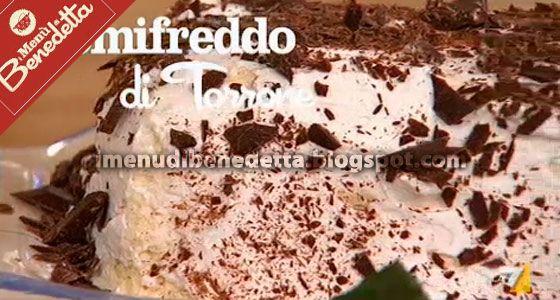 Semifreddo al Torrone | la ricetta di Benedetta Parodi