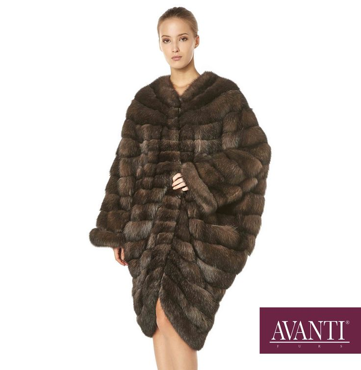 AVANTI FURS - MODEL: ALBERTINE SABLE JACKET with Leather details #avantifurs #fur #fashion #fox #luxury #musthave #мех #шуба #стиль #норка #зима #красота #мода #topfurexperts