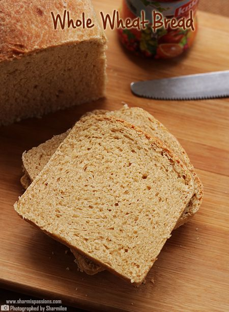 I have been baking Whole Wheat Bread  since a yr, have been trying many recipes few failed, few were hit but finally when I tried this b...