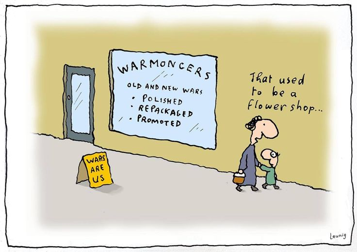 Image result for leunig anti war