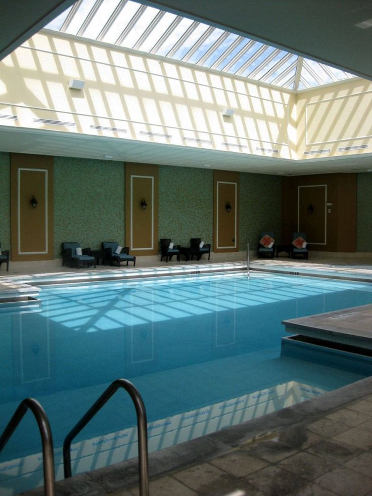 21 best images about indoor swimming pools on pinterest mansions swimming pool designs and for Enclosed swimming pool designs