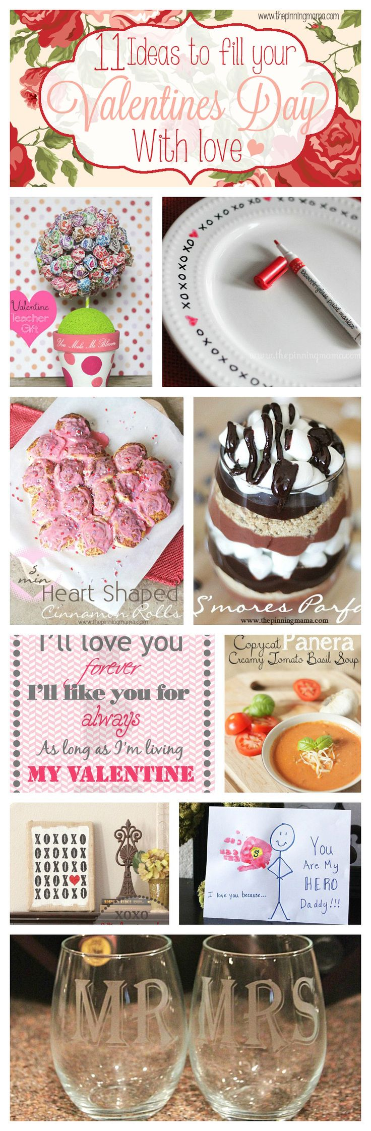 Love these Easy Valentine's Day Ideas by The Pinning Mama
