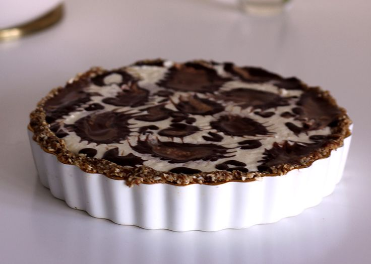 No Bake Chocolate Tart by Alice Toich made on Afternoon Express