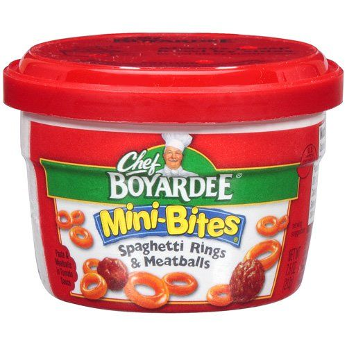 chef boyardee | Chef Boyardee Mini Bites Microwavable Bowls As Low As $0.35 After ...