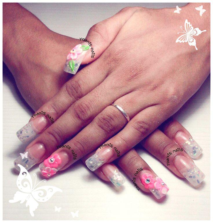 59 best Diseño de Uñas images on Pinterest | Nail design, Acrylic ...