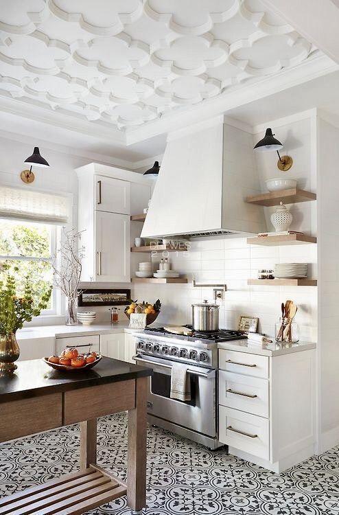 60 perfect farmhouse kitchen decor ideas on a bugdet easy design rh pinterest com