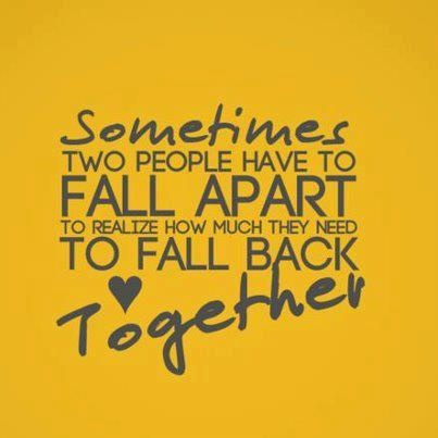 fall back together