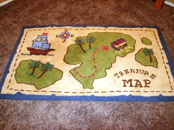 Woo buy a plain cheap rug at walmart and paint a treasure for Places to buy area rugs