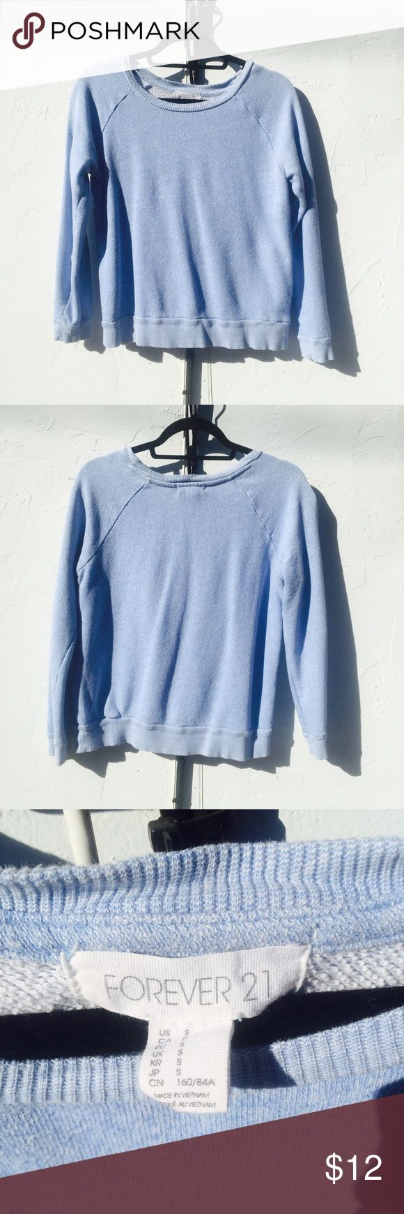 Blue Jumper Worn a couple of times, but very lightly! Has a few wrinkles from being folded in my drawers. Any questions? Feel free to ask away! 😁 Tops
