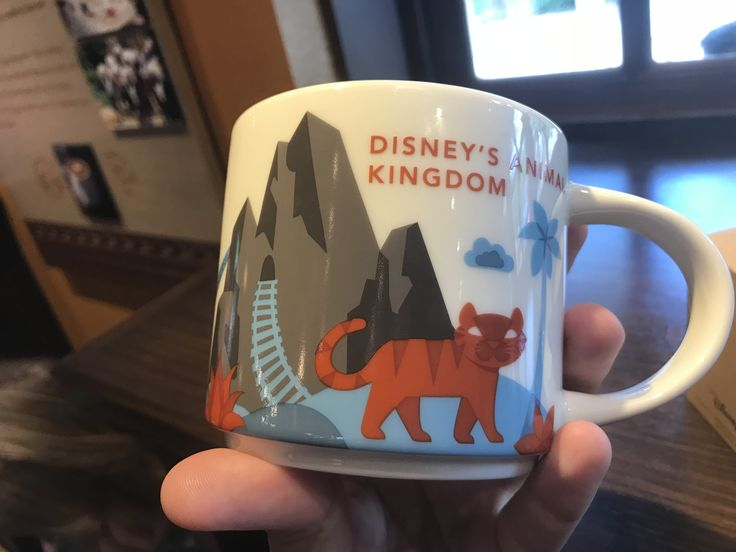 "PHOTOS: New ""You Are Here"" Starbucks Mug at Disney's Animal Kingdominside of Creature Comforts at Animal Kingdom h"