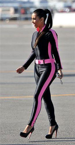 kim kardashian nascar | Kim Kardashian Flies Maverick to ...