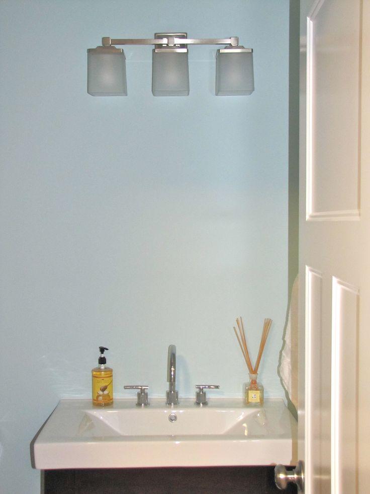 Modern skylands collection 3 light brushed nickel plated for Martha stewart bathrooms