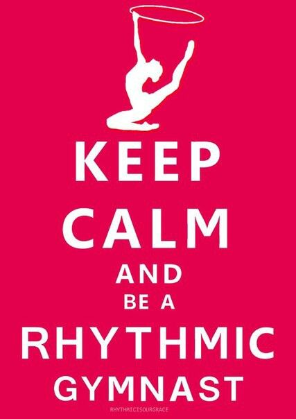 Rhythmic gymnastics quote