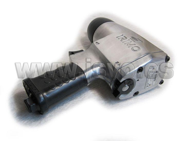 """Llave de impacto IRIMO P800 ½""""(12,7mm) Par de apriete regulable: 100-570 Nm Caudal: 99 l/min Presión: 6,3 bar Peso de la pistola: 2,5 kg #herramientas #bricolaje #taller #BAHCO #IRIMO #neumatica #jsventaonline Www.jsvo.es"""