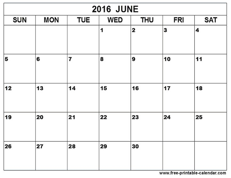 Best 25+ June calendar 2016 ideas on Pinterest June calendar for - preschool calendar template