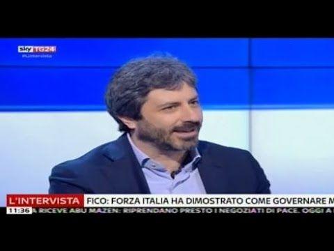 Roberto Fico (M5S) intervista SkyTg24 15/1/2017