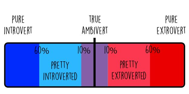 What your result will mean: | What Percentage Introvert Or Extrovert Are You?