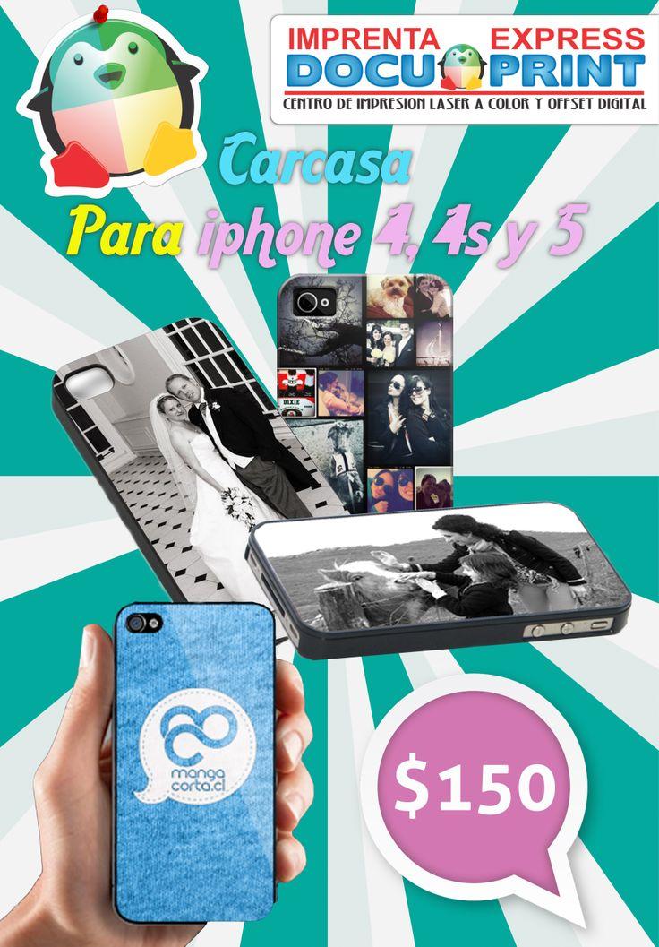 carcasa/cubierta par iphone 5, 5s   totalmente personalizable!